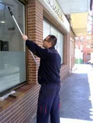 Limpieza de cristales en Valencia