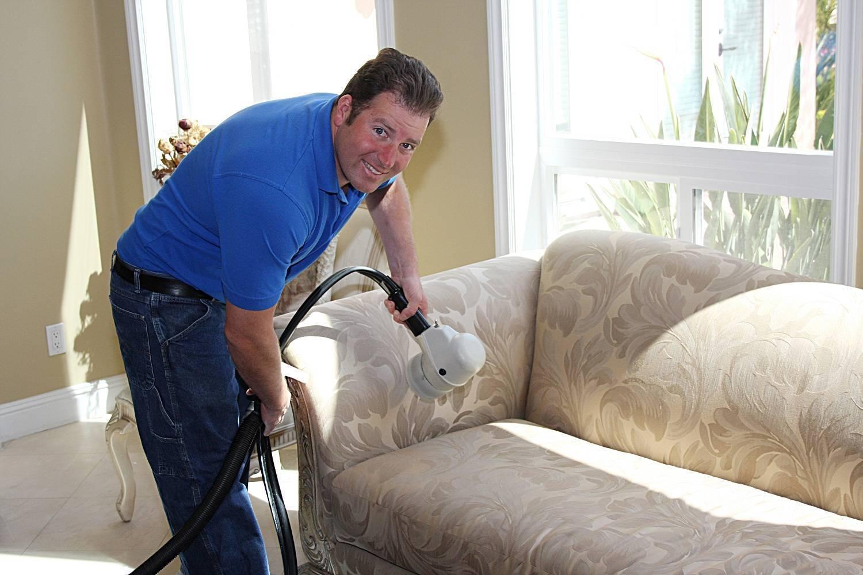 Servicio de limpieza de tapicerías