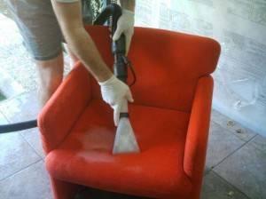 Servicios de limpieza de tapicerías